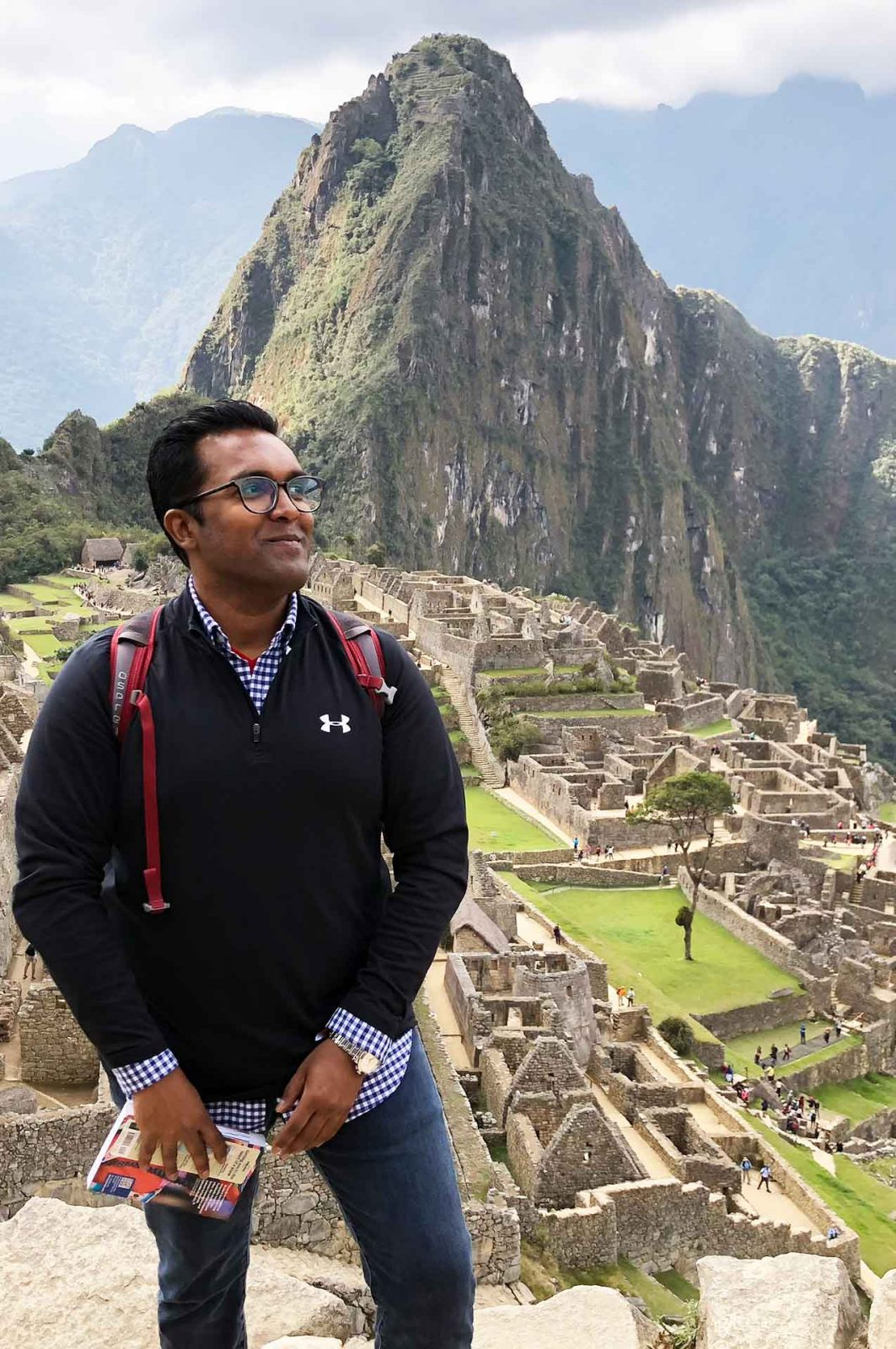 techstars mentor abhi ghosh in lima peru on sabbatical before leading shot ventures